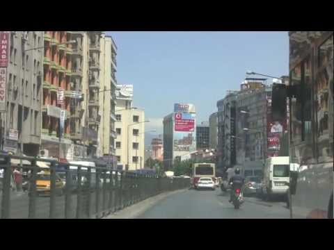 Taxi Tour of Izmir, Turkey - 31st July, 2012 (HD)