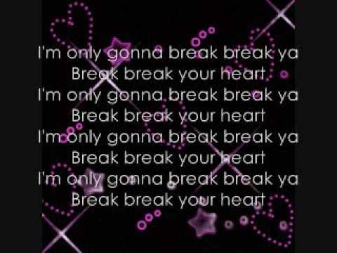 Break Your Heart Lyrics Taio Cruz ft. Ludacris