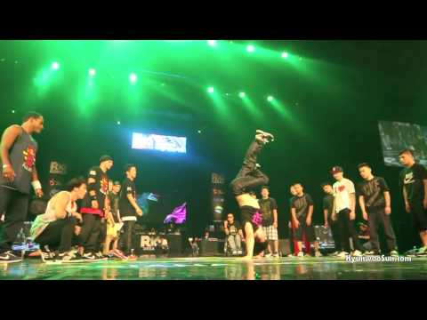 R16 KOREA 2011 - Redbull BC ONE all stars vs. AOM (Art Of Movement)