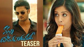 Nannu Dochukunduvate Movie Teaser | Sudheer Babu | Nabha Natesh | TFPC - TFPC