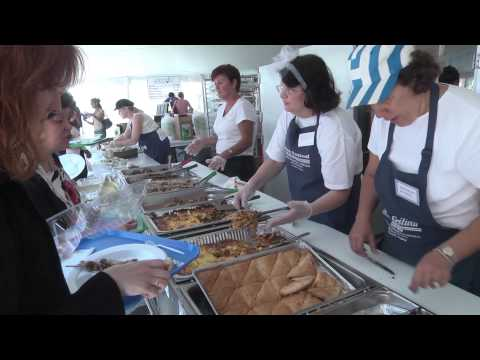A LOT of food cooked up for Norfolk Greek Festival