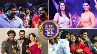Tollywood Celevbrities At Zee Telugu Cine Awards 2020 | Chiranjeevi | Samantha |  Ram - RAJSHRITELUGU