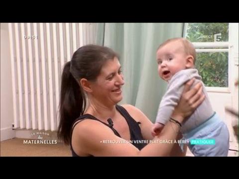 Comment retrouver un ventre plat grâce à bébé ? La Maison des Maternelles