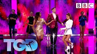 Dance captains and squads open the show to Just Got Paid - The Greatest Dancer | LIVE - BBC