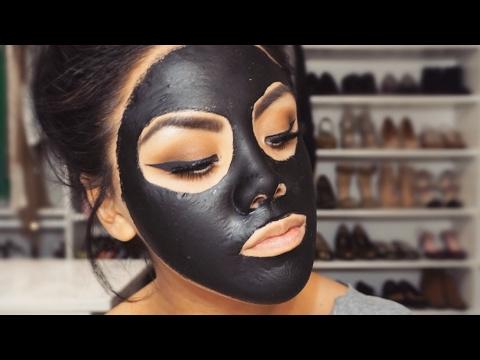 Maska z węgla aktywnego i... kleju szkolnego w praktyce.
