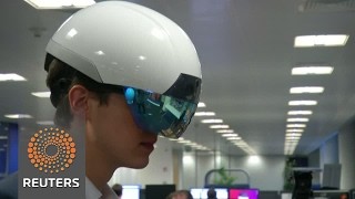 AR smart helmet for worksites of the future - REUTERSVIDEO