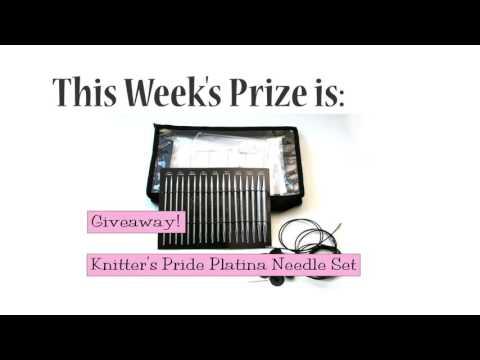 Winner Announced!  Knitter's Pride Platina Needle Set