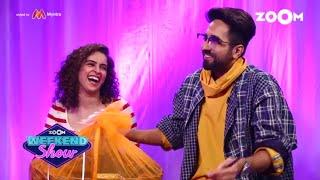 Badhaai Ho | Ayushmann, Sanya, Neena, Gajraj | Interview, Fun Game & Movie Review |Zoom Weekend Show - ZOOMDEKHO