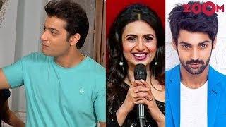 Sharad Malhotra welcomed after marriage on sets   Karan Wahi replaces Divyanka as a host - ZOOMDEKHO