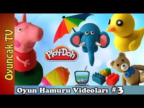 Oyun Hamuru şekilleri 3 Oyuncak Tv En Güzel Oyun Hamuru Videoları