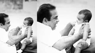 Brahmanandam  Palying With His Grand Son | Brahmanandam  Family Images - RAJSHRITELUGU