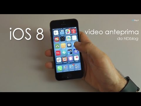 Apple iOS 8 iPhone preview di HDblog.it