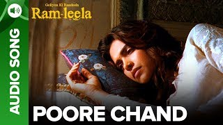 Poore Chaand - Full Audio Song | Deepika Padukone & Ranveer Singh | Ram-leela - EROSENTERTAINMENT