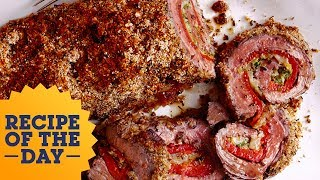 Recipe of the Day: Horseradish-Crusted Steak Roulade | Food Network - FOODNETWORKTV