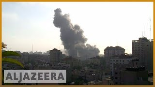 Israeli air raids kill two Palestinian teens in Gaza - ALJAZEERAENGLISH