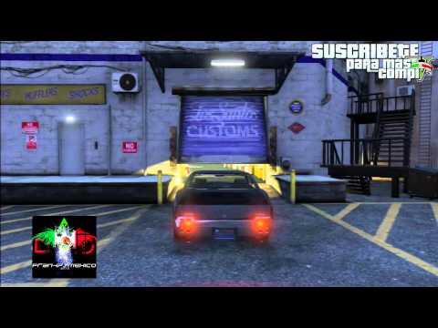 GTA V ONLINE 1.09 GLITCH/BUG AUTOS DE MODO HISTORIA a ONLINE SIN PS3 HACKEADA