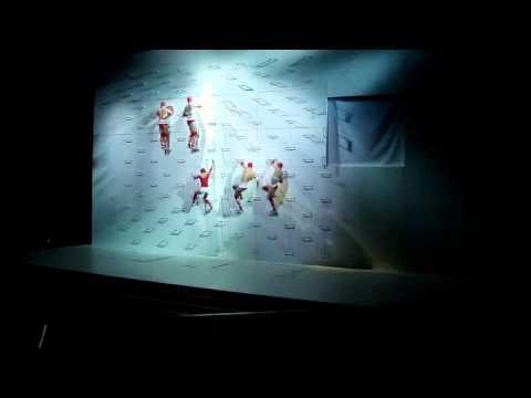 Wall-Dance. HSBC, Hong Kong Wall Piece.