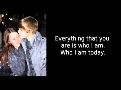 Justin Bieber - Turn To You Lyrics -GzlDn8YfvVY