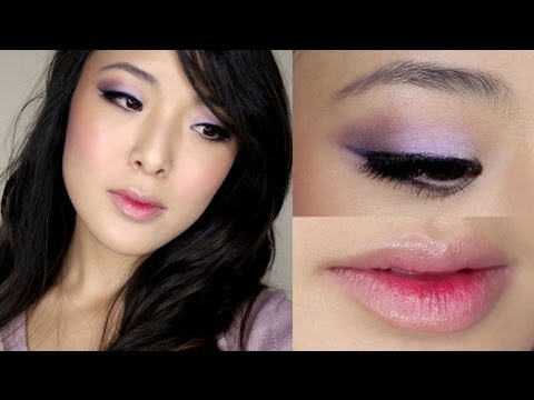 Romantic Violet Makeup