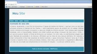 Recortando um site com include com PHP