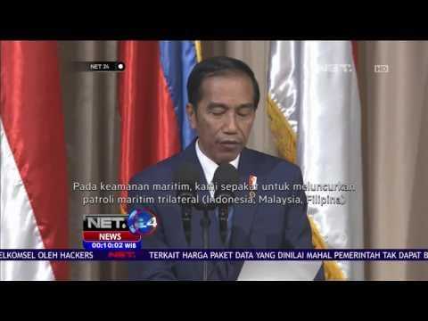 Penanganan Terorisme Menjadi Pembahasan Utama Dalam Pertemuan Bilateral Jokowi di Filipina - NET24