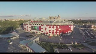 2018 FIFA World Cup: Spartak Stadium in Moscow (360 VIDEO) - RUSSIATODAY