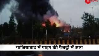 Major fire at a factory in Ghaziabad, no casualties yet - ZEENEWS