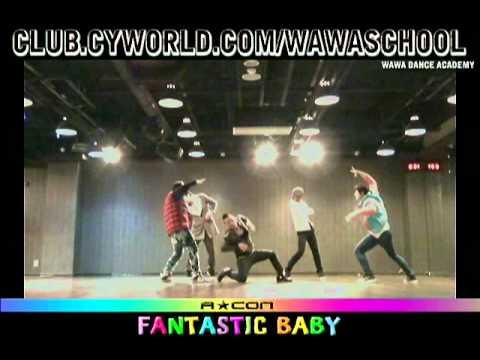 WAWA DANCE ACADEMY ACON SPECIAL BIGBANG FANTASTIC BABY DANCE STEP