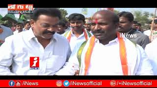 Protocol War At Cheruvugattu Brahmotsavam | Chirumarthi Lingaiah Vs TRS Leaders | Loguttu | iNews - INEWS