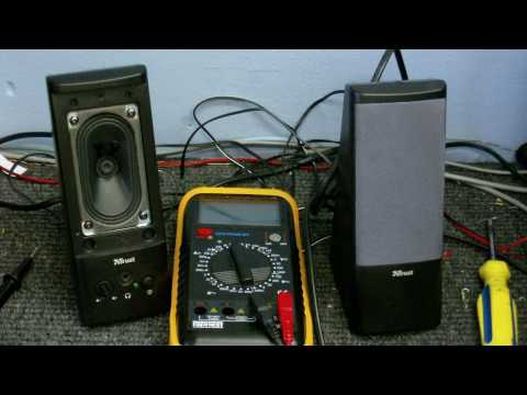 CDC Electronic Workshop S2 EP3 - Fixing a pair of computer speakers