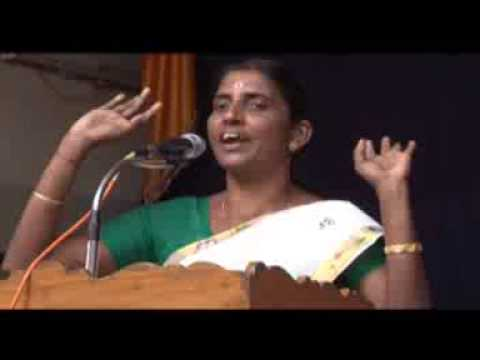 Smt Sasikala Teacher's speech at Chennai 'SATSANGAMA' Onam 2013 Celebrations