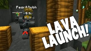 watch the youtube video Minecraft - Mission To Mars - Lava Launch! [22]