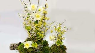 Букет цветов композиция своими руками уроки флористики