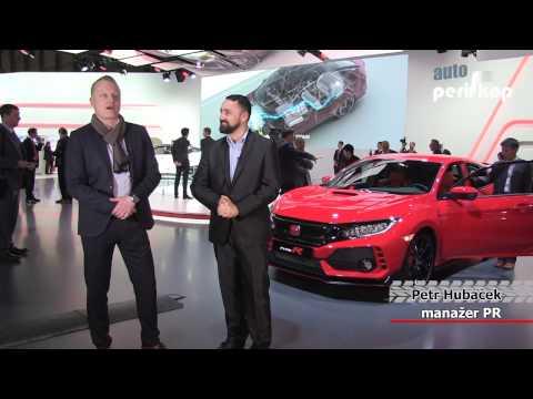 Autoperiskop.cz  – Výjimečný pohled na auta - VIDEO – Honda Civic Type R – Ženeva 2017