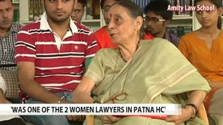 'Talking of Justice' with Leila Seth - NDTV
