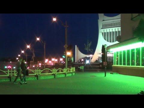 Вечерняя прогулка Гродно Evening walk in the center of Grodno