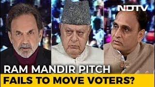 """At Elections, You Start 'Mandir'"": Farooq Abdullah vs RSS Ideologue - NDTV"