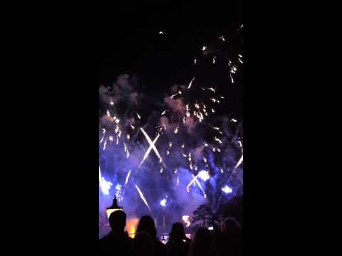 #AFewMinutes: fireworks at Epcot Center (Walt Disney World)  #2