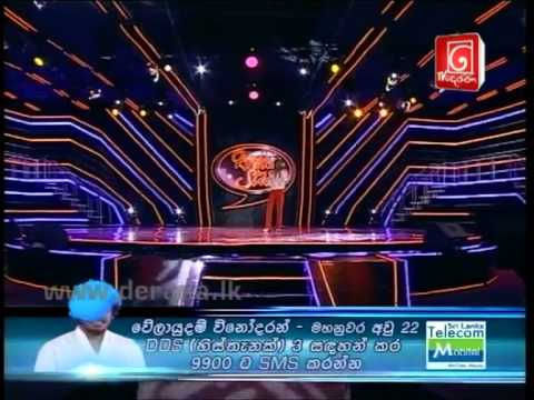 DDS4 Final 8 - Velayudam Vinodaran - 01st Song - 27th October 2012 (SMS 3)