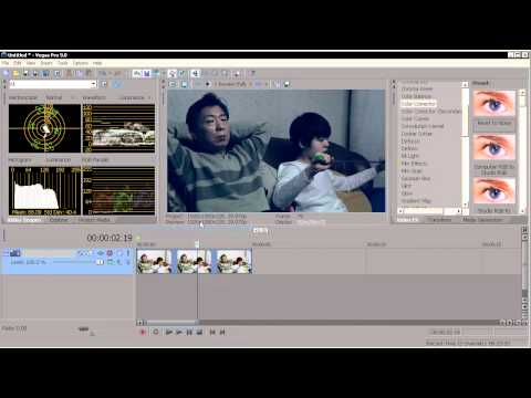 SONY VEGAS TUTORIAL - COLOR GRADING FOR FILM LOOK