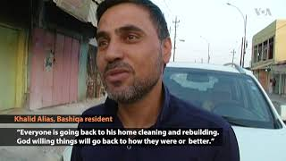 Residents Return to Diverse Iraqi Town Once Controlled by IS - VOAVIDEO
