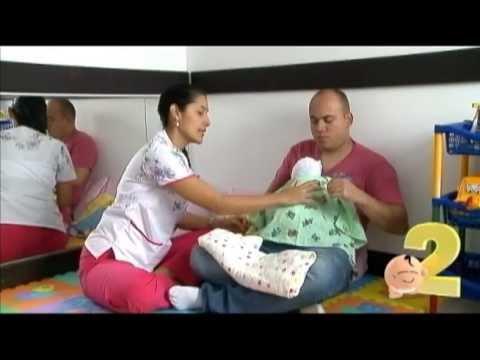 Masaje de Estimulación para Bebés Prematuros.