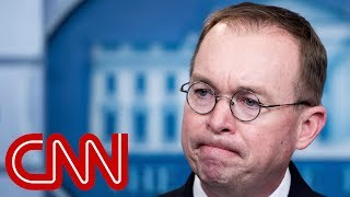 Acting chief of staff: Trump is not a white supremacist - CNN