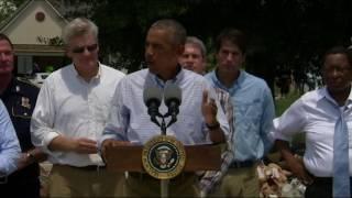 President Obama Promises Help for Flood-Stricken, 'Even After TV Cameras Leave' - VOAVIDEO