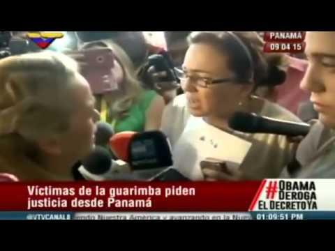 Estremecedor encuentro entre Lilian Tintori y víctimas de la Guarimba