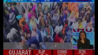 Decision 2017: BJP President Amit Shah takes part in the poll celebrations - NEWSXLIVE