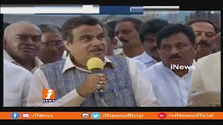 Central Minister Nitin Gadkari Review Progress Of Polavaram With CM Chandrababu | iNews - INEWS