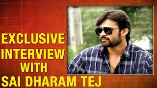 Actor 'Sai Dharam Tej' in special Chit Chat - Taara, V6 Exclusive - V6NEWSTELUGU