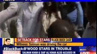 Black Buck case: Witness identifies 3 bollywood starlets - NEWSXLIVE
