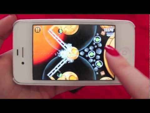 GamePlay Angry Birds Star Wars no iPhone